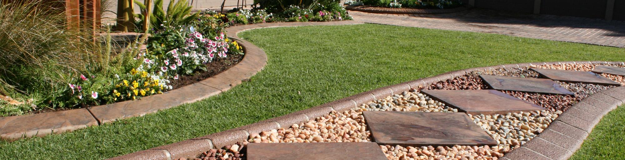 Kwik Kerb - Design continuous free form concrete landscape edging by kwik kerb